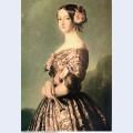 Portrait of francisca caroline gonzaga de bragan a princesse de joinville
