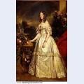 Portrait of princess victoria of saxe coburg and gotha