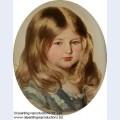 Study for a portrait of princess amalie of saxe coburg gotha