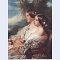 The cousins queen victoria and victoire duchesse de nemours 1852