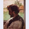 Self portrait at saint saveur
