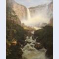 Tequendama falls near bogota new granada