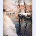 A river in the winter