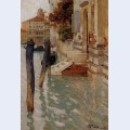 On the grand canal venice