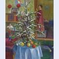 Interieur mit weihnachtsbaum