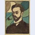 Portrait of wassily kandinsky