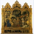 Adoration of the magi from the strozzi chapel in santa trinita florence