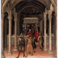 Quaratesi altarpiece pilgrims at the tomb of st nicholas of bari