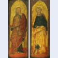 St james the greater and st peter the polyptych sandei collection berenson