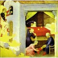 St nicholas and the three gold balls from the predella of the quaratesi triptych from san
