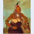 Osage warrior of the wha sha she band a subdivision of hunkah
