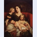 Mrs george augustus frederick cavendish bentinck and her children