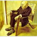 Portrait of the writer max herrmann neisse