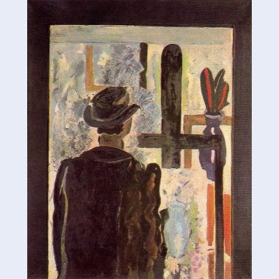 A man at the easel