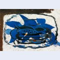 Blue aquarium