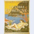 Exhibition poster for la libre esth tique