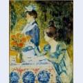 Two women in the garden