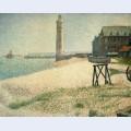 Hospice and lighthouse honfleur