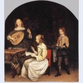 The concert singer and theorbo player