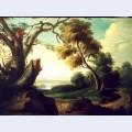 Peisaj cu arbore fr nt