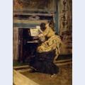 Gentleman at the piano