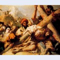 Christ s fall on the way to calvary