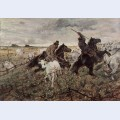 Cowboys and herds in the maremma