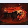 Bull and matador iii
