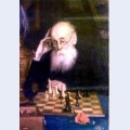 Portrait of chess player a d petrova