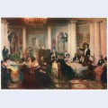 Pushkin and his friends listen to mickiewicz in the salon of princess zinaida volkonskaya