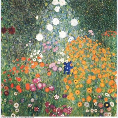 Flower garden 1907