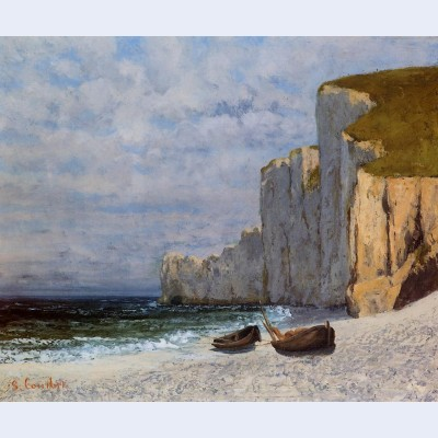 Bay with cliffs