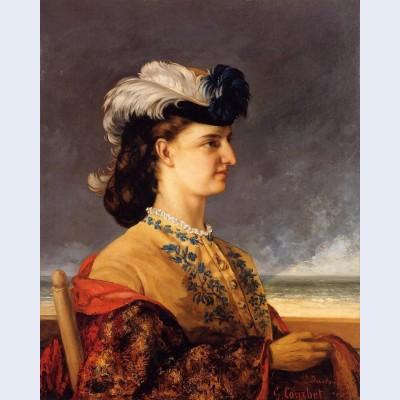 Portrait of countess therese burnswick