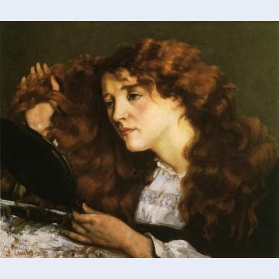 Portrait of jo the beautiful irish girl