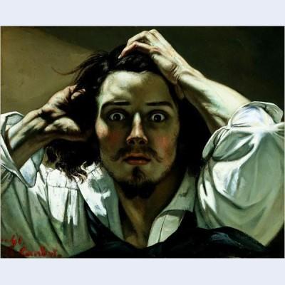The desperate man self portrait