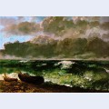 The stormy sea