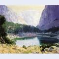 Twin lakes high sierra