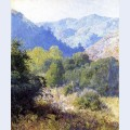 View in the san gabriel mountains
