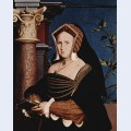 Portrait of mary wotton lady guildenford