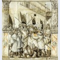 The humiliation of the emperor valerian by the persian king sapor