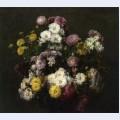 Flowers chrysanthemums