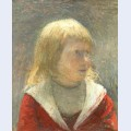 Child in red jacket