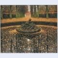 Fountain of the versailles queen