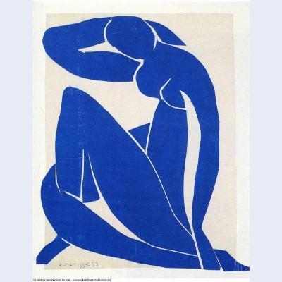 Blue nude 1952
