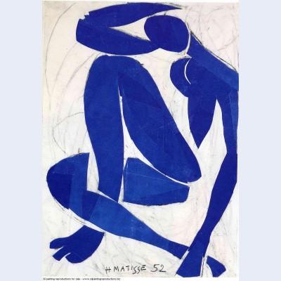 Blue nude iv 1952