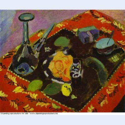 Dishes and fruit 1906