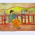 Lady on a terrace 1907