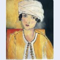Lorette with turban and yellow vest 1917