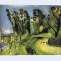 Montalban landscape 1918