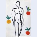 Nude with oranges 1951